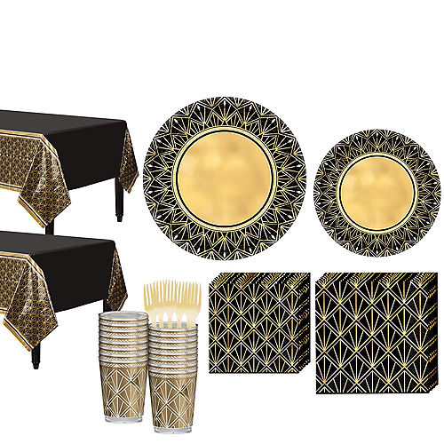 Hollywood Tableware Kit for 32 Guests Image #1