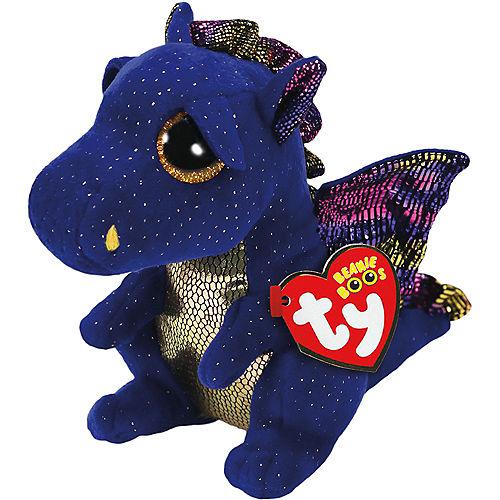 Saffire Beanie Boo Dragon Plush Image #1