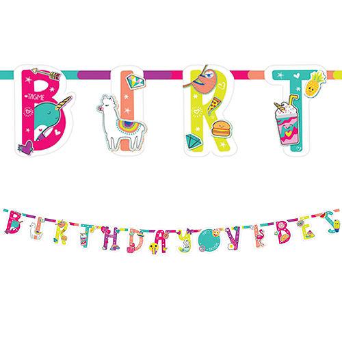 Selfie Celebration Birthday Banner Kit Image #1