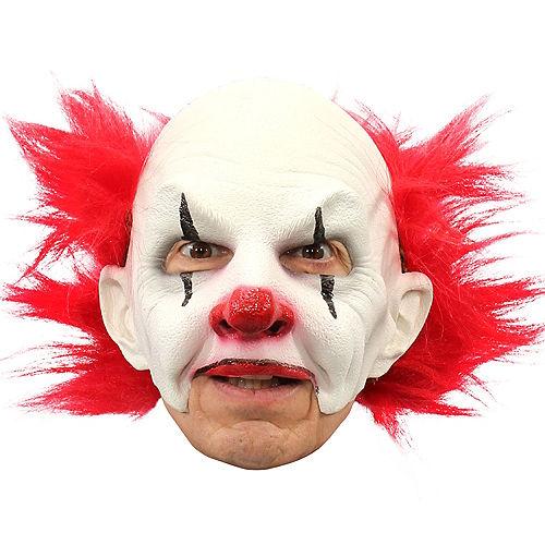 Adult Carnival Creepy Clown Mask Image #1