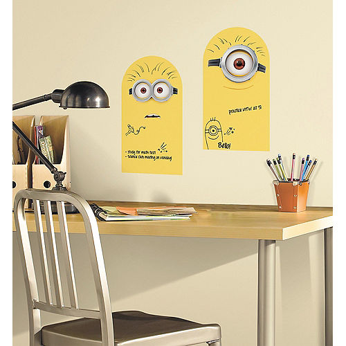 Dry Erase Minions Wall Decals 2ct Image #1