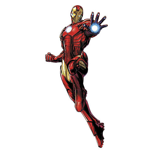 Iron Man Wall Decals 9pc - Avengers Image #3