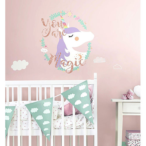 Unicorn Wall Decals 6ct Image #1