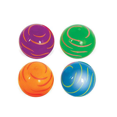 Light-Up Zebra Bounce Ball Image #1