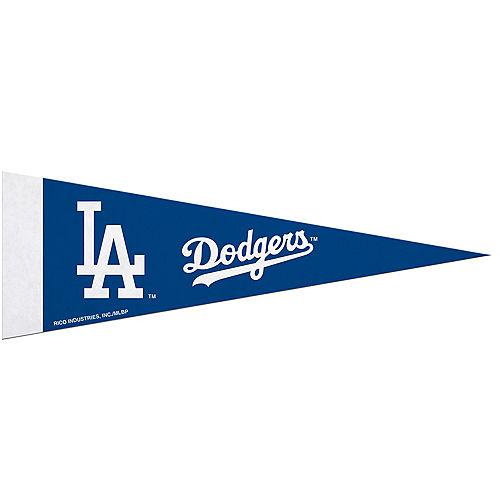 Medium Los Angeles Dodgers Pennant Flag Image #1