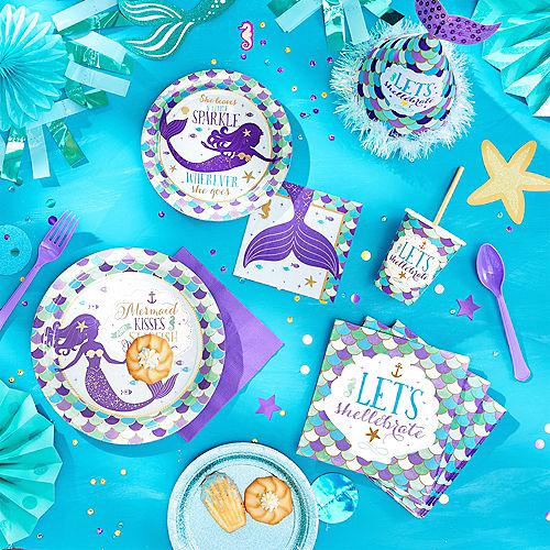 Wishful Mermaid Cups 8ct Image #2