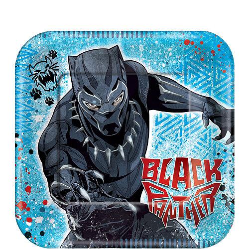 Black Panther Dessert Plates 8ct Image #1