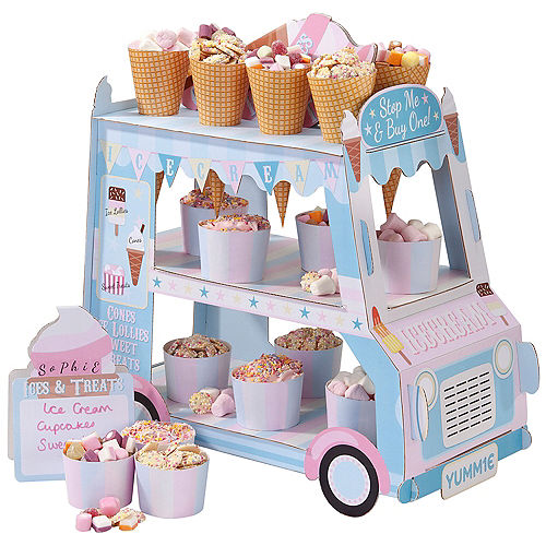 Ice Cream Truck Candy Stand Kit Image #1