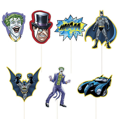 Batman Scene Setter with Photo Booth Props Image #3
