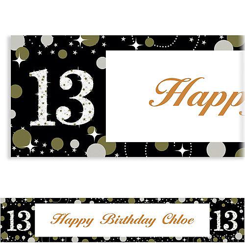 Custom Sparkling Celebration 13 Banner Image #1