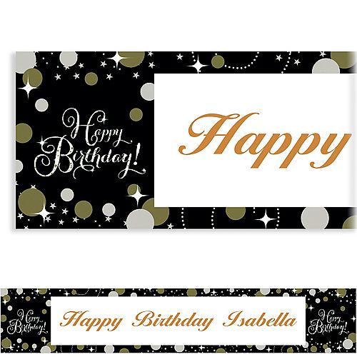 Custom Sparkling Celebration Banner Image #1