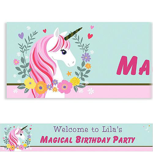 Custom Magical Unicorn Banner Image #1