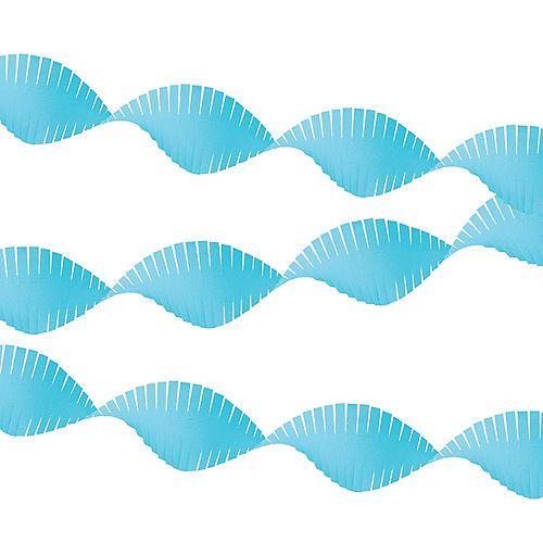 Caribbean Blue Fringe Streamer Image #1