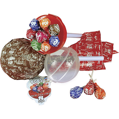 Giant Tootsie Pop Container with Lollipops Image #2