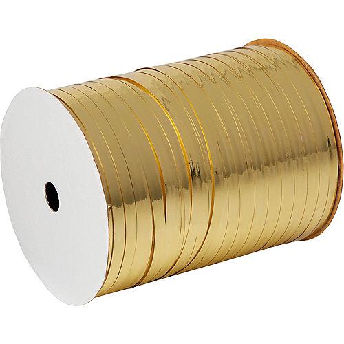 Metallic Gold Curling Ribbon Image #1