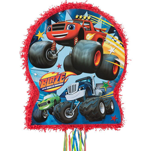 Blaze and the Monster Machines Pinata Kit with Candy & Favors Image #2