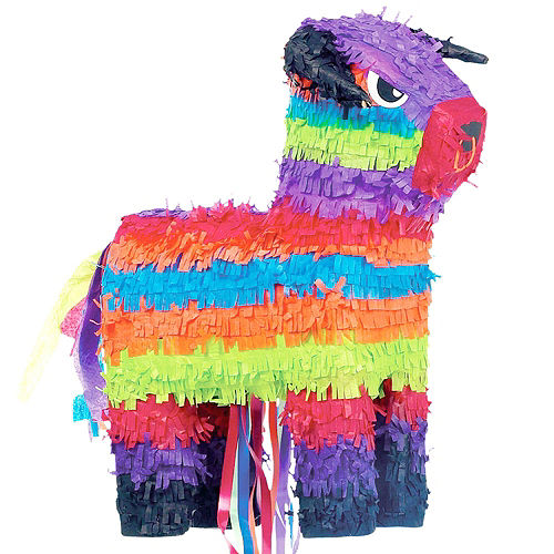 Bull Pinata Kit with Candy & Favors Image #2