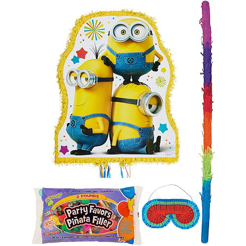 Minion Pinata Kit with Candy & Favors Image #1