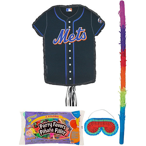 New York Mets Pinata Kit with Candy & Favors Image #1