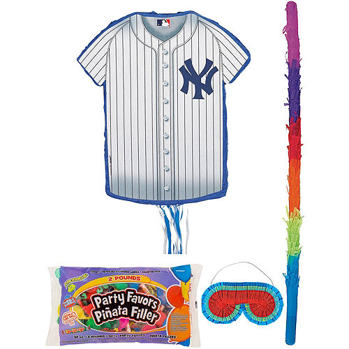 New York Yankees Pinata Kit with Candy & Favors Image #1