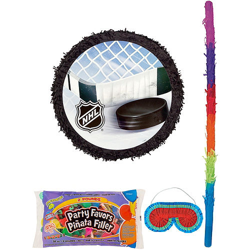NHL Pinata Kit with Candy & Favors Image #1