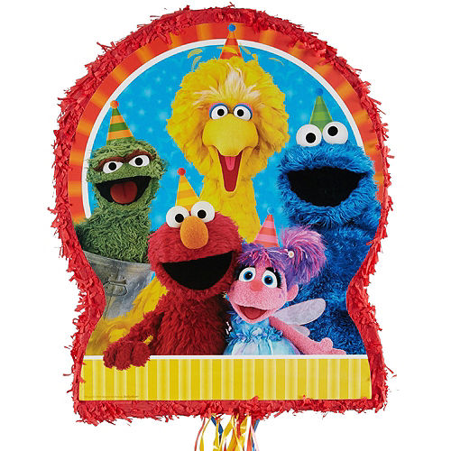 Sesame Street Pinata Kit with Candy & Favors Image #2