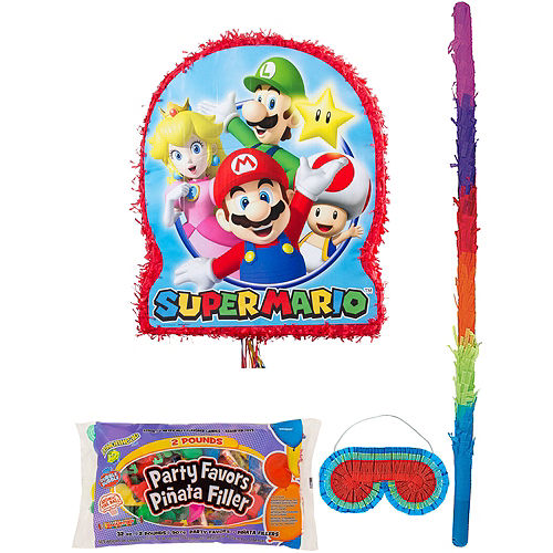 Super Mario Pinata Kit with Candy & Favors Image #1
