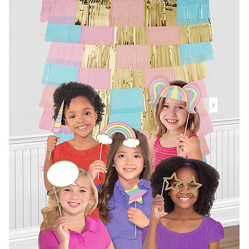 Sparkling Unicorn Photo Booth Kit Image #1