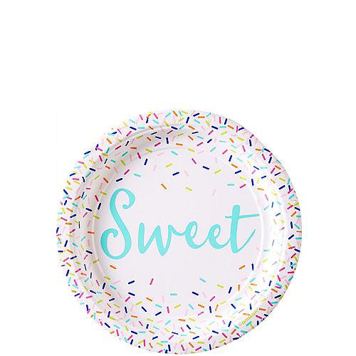 Colorful Sprinkles Dessert Plates 8ct Image #1