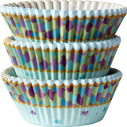Mermaid Wishes Baking Cups 75ct Image #1