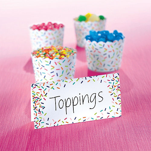 Colorful Sprinkles Tent Cards 25ct Image #2