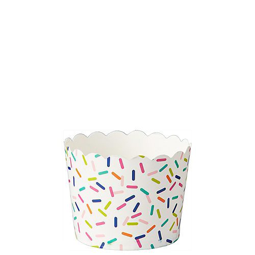 Mini Colorful Sprinkles Scalloped Bowls 36ct Image #1