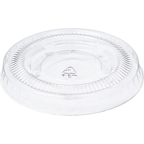 Big Party Pack Small CLEAR Plastic Portion Cup Lids 200ct Image #2