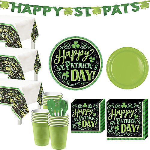 Clover Me Lucky Tableware Kit for 50 Guests Image #1
