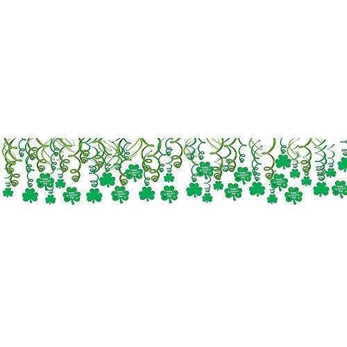 Happy St. Patrick's Day Shamrock Super Decorating Kit Image #6