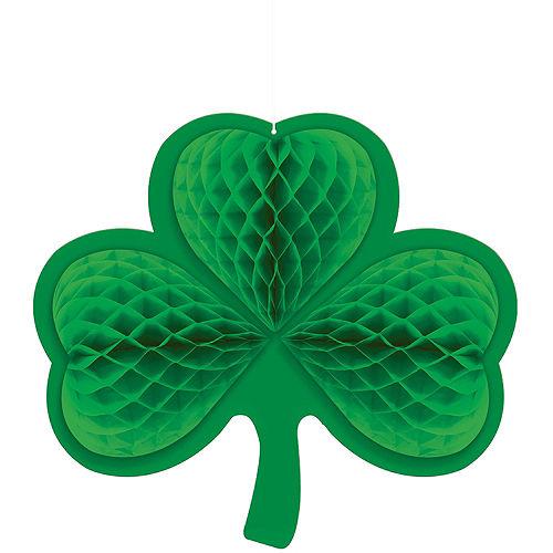 Happy St. Patrick's Day Shamrock Super Decorating Kit Image #7