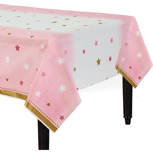 Pink Twinkle Twinkle Deluxe 32ct Tableware Kit Image #7