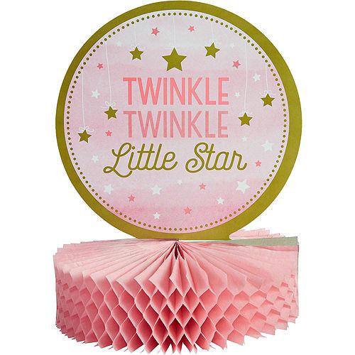 Pink Twinkle Twinkle Deluxe 32ct Tableware Kit Image #11