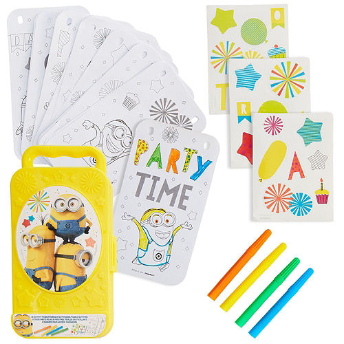 Despicable Me 3 Ultimate Favor Kit for 8 Guests Image #4
