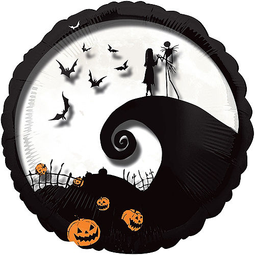Giant The Nightmare Before Christmas Balloon, 32in Image #1