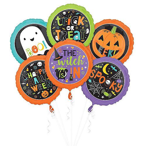 Halloween Friends Balloons 6ct Image #1