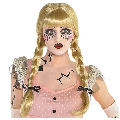 Blonde Braid Wig Image #1