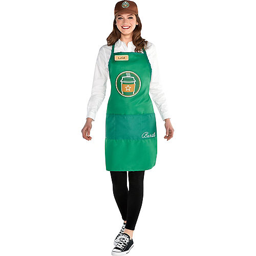 Adult Barista Costume Accessory Kit Image #1