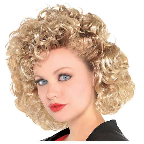 Sandy Olsson Greaser Wig - Grease Image #1