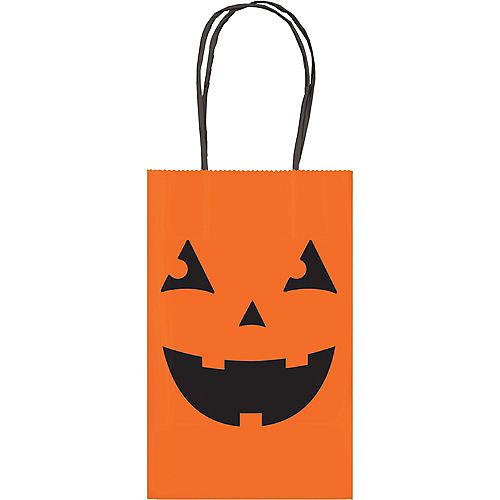 Jack-o'-Lantern Kraft Favor Bag Image #1