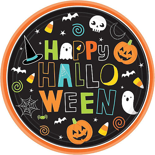 Happy Halloween Lunch Plates 60ct Image #1