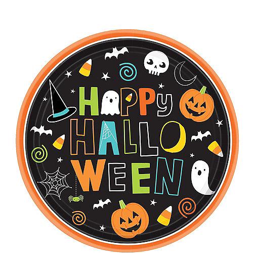 Happy Halloween Dessert Plates 60ct Image #1