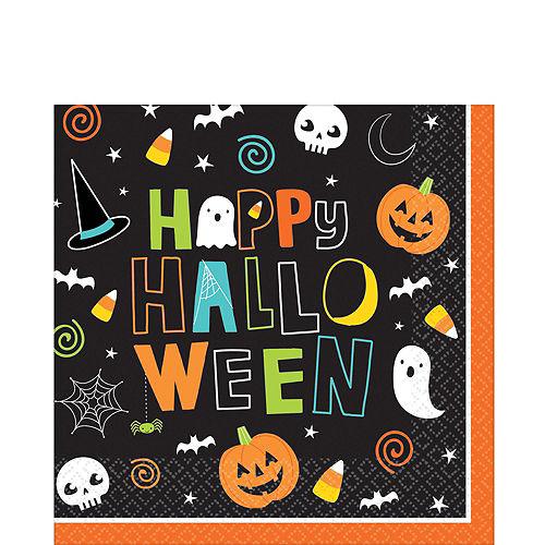 Big Party Pack Halloween Friends Lunch Napkins 125ct Image #1