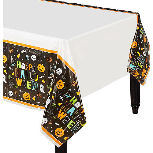 Halloween Friends Table Covers 3ct Image #1