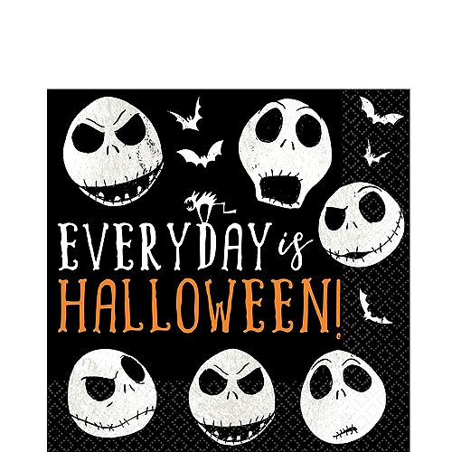The Nightmare Before Christmas Lunch Napkins 16ct Image #1
